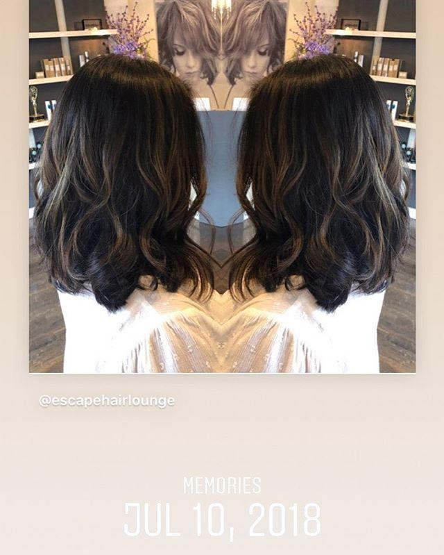 One year ago today, this hair is so beautiful #licensedtocreate  #bayalageartists #longislandhair #nyc #longisland #nybloggers #behindthechair #colormelt  #hairgoals #hairbrained #hairstylist #hair #nychair #modernsalon #americansalon #beauty #hairfashion #style #hairbrained_official #hairdresser #crafthair #esteticallikes  #balayage #lisencedtohair #newyorkhair #libloggers #huntingtonny #showmethebalayage #hairinspo #kmsapprovedus