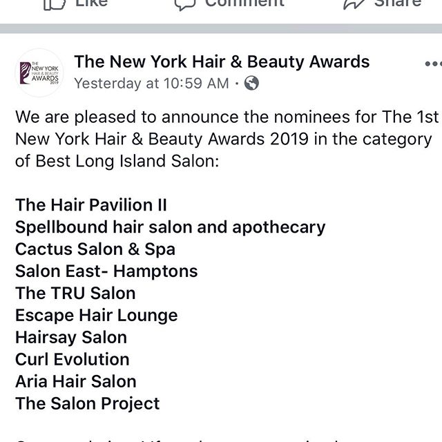 Thankyou to everyone that has made this happen for us, we greatly appreciate all of you! ❤️ if you could please go to their Facebook page and VOTE for us 🥰