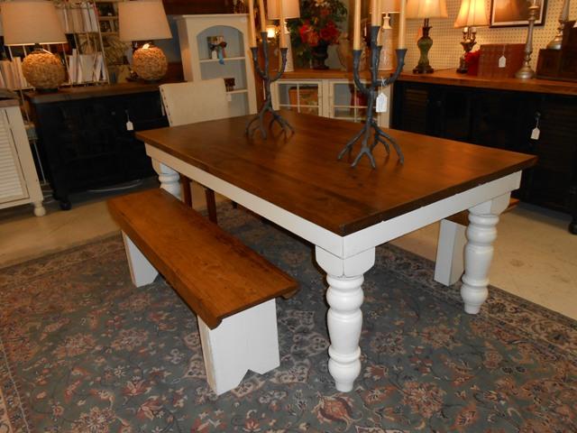 3.5' x 6' thick top farm table.JPG