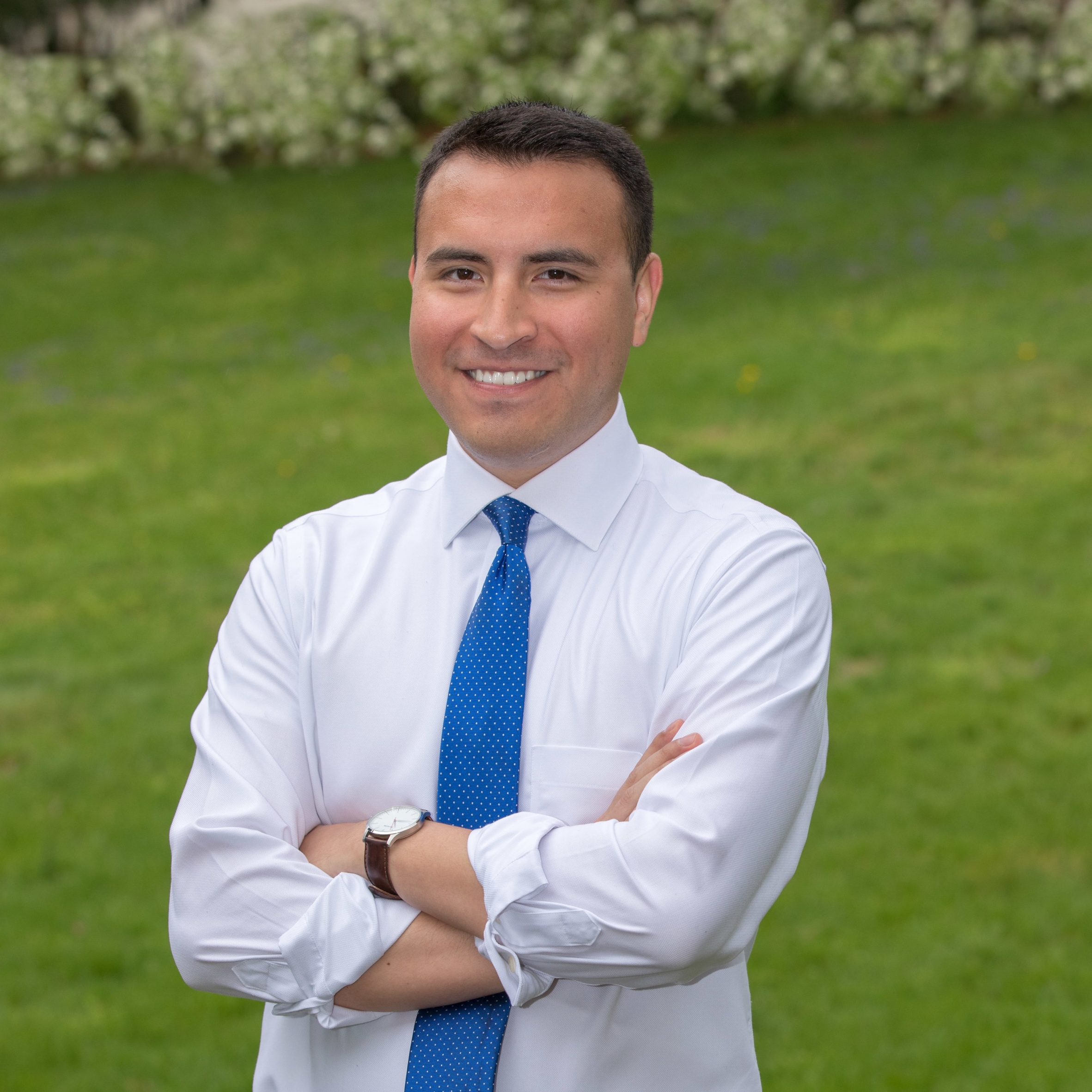 Please vote for Iber Guerrero Lopez for Lancaster Township Supervisor!
