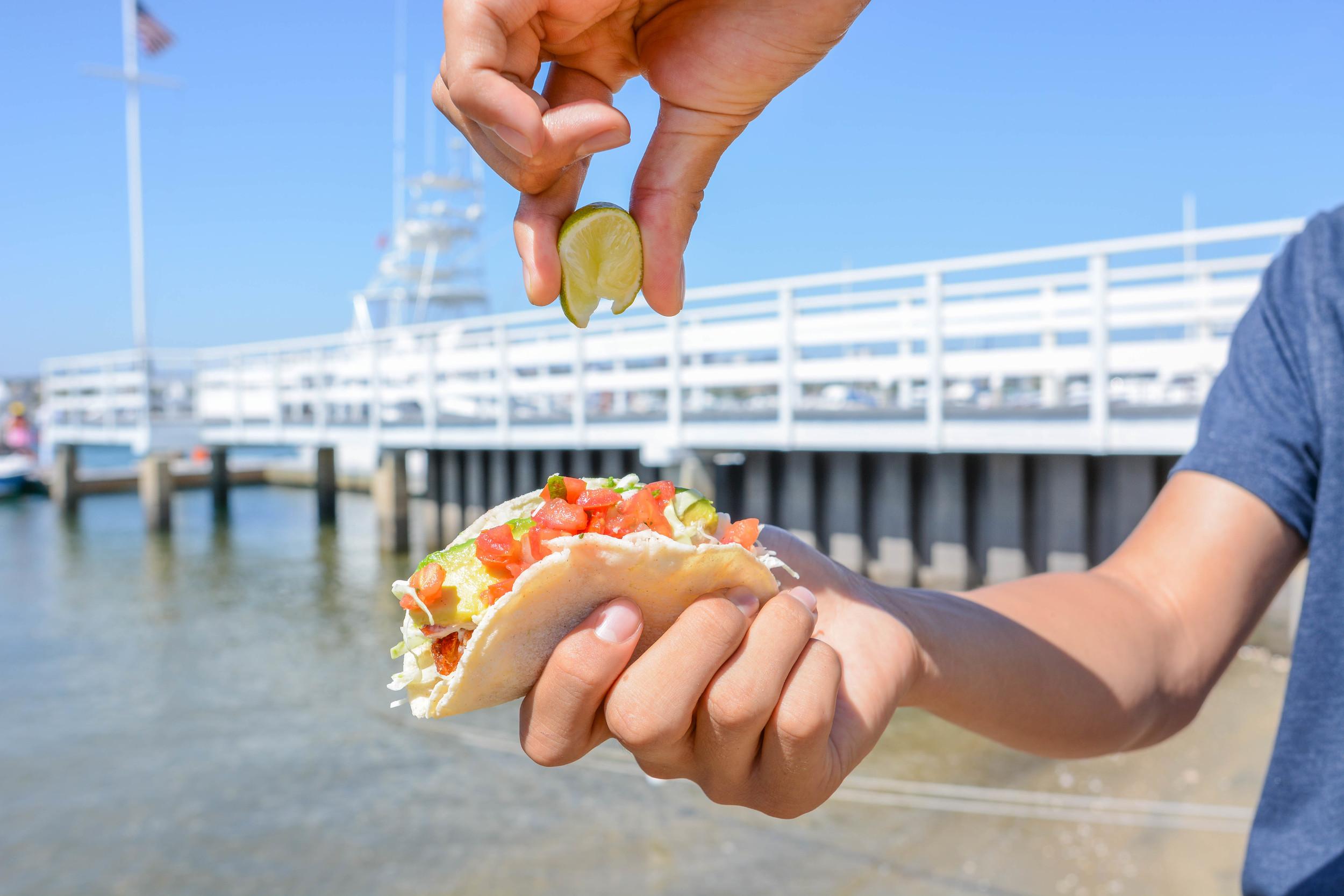 Beer-Battered Fish Taco