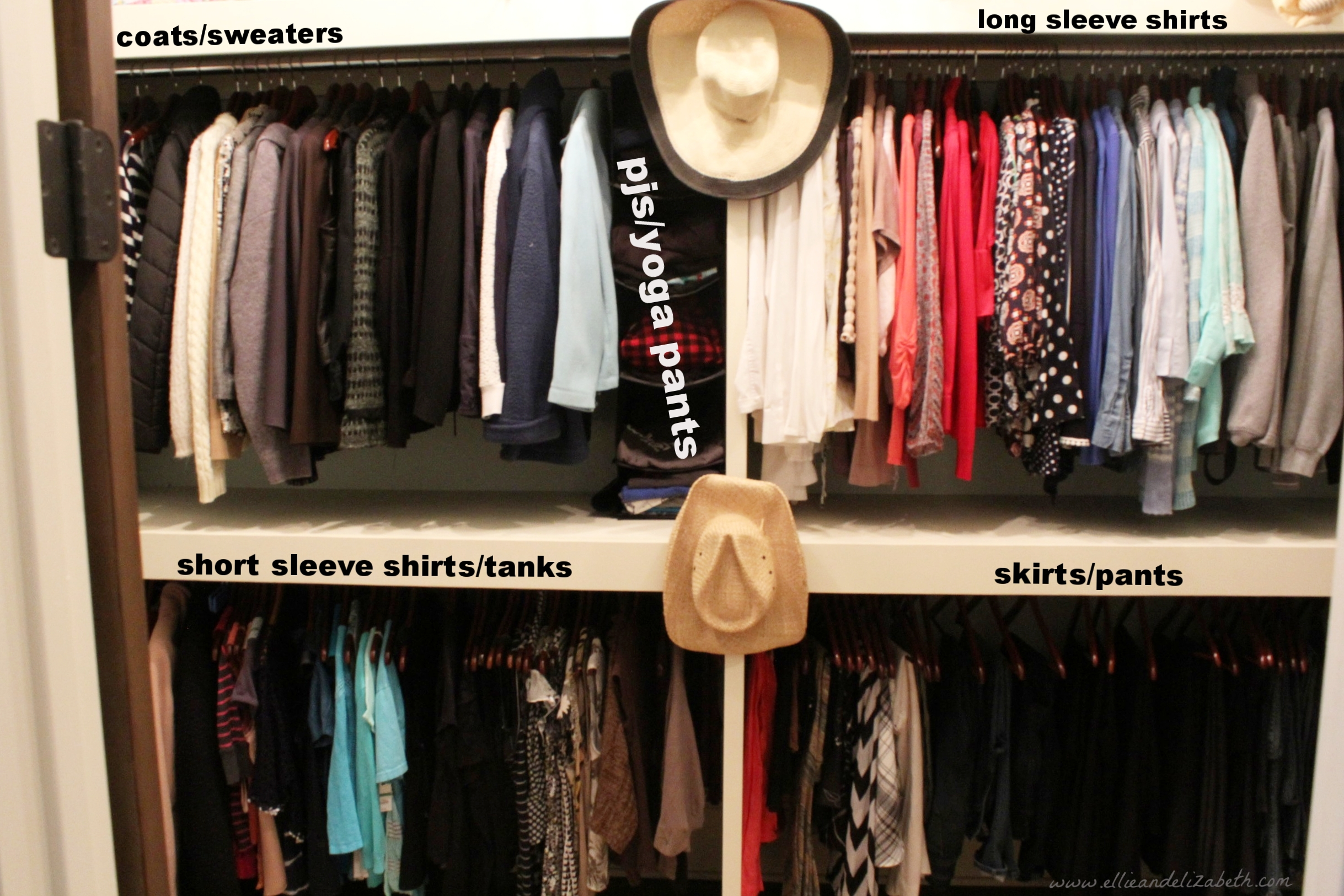 cleaning out your closet