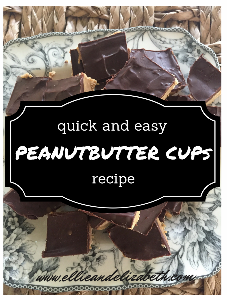 peanutbutter cups recipe