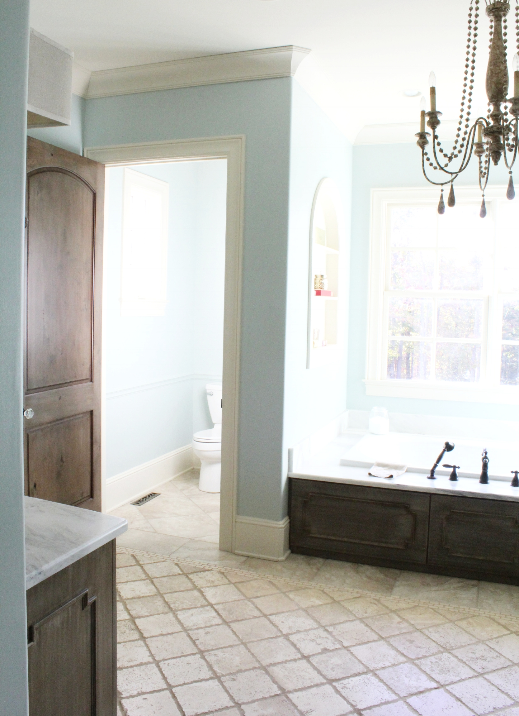 french country master bath