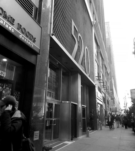 A Rehearsal Studio in the heart of Manhattan...
