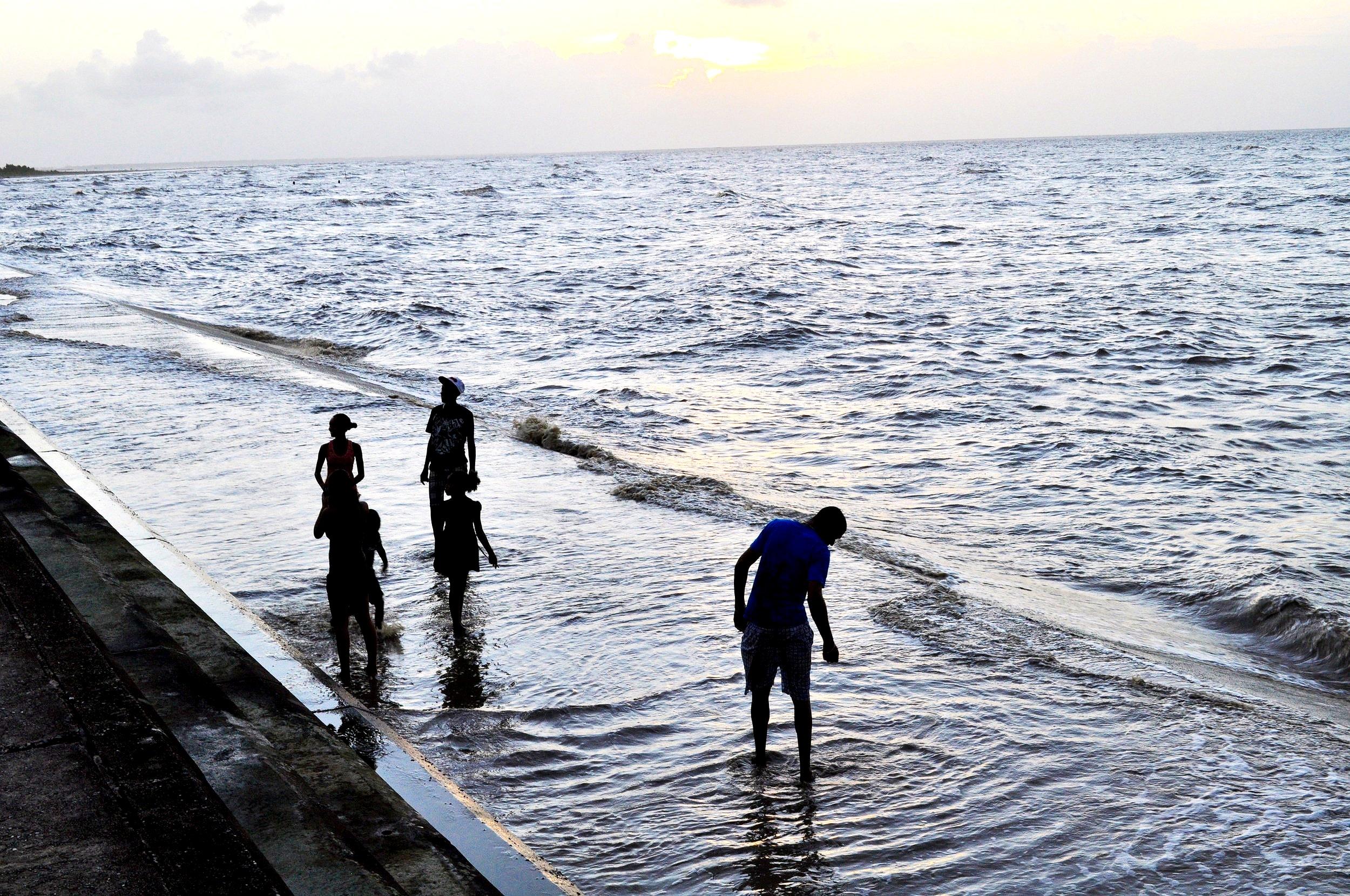 GEORGETOWN, GUYANA - SEAWALLS