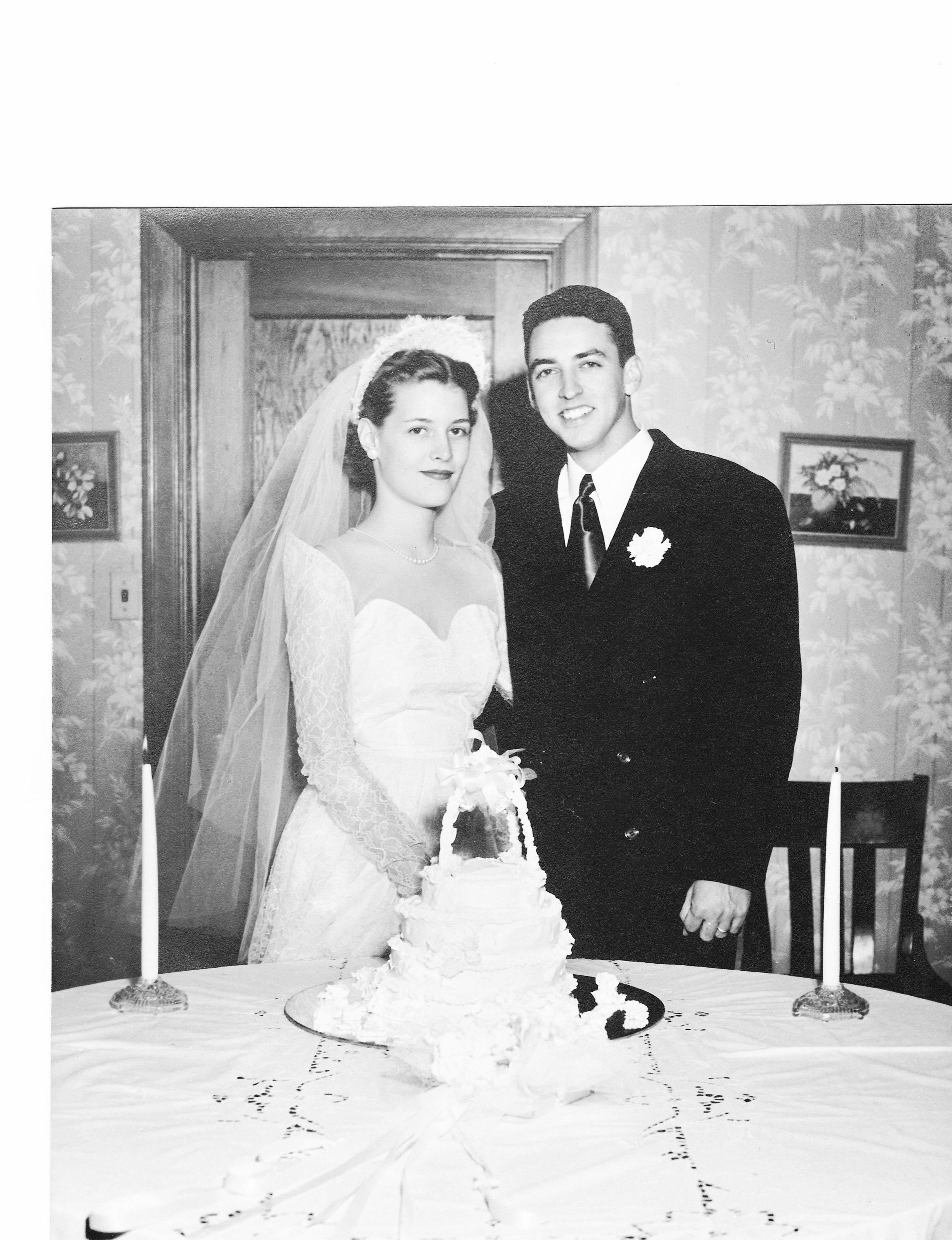 Chris's Nana and Poppo at their wedding in Austin, TX. 1951