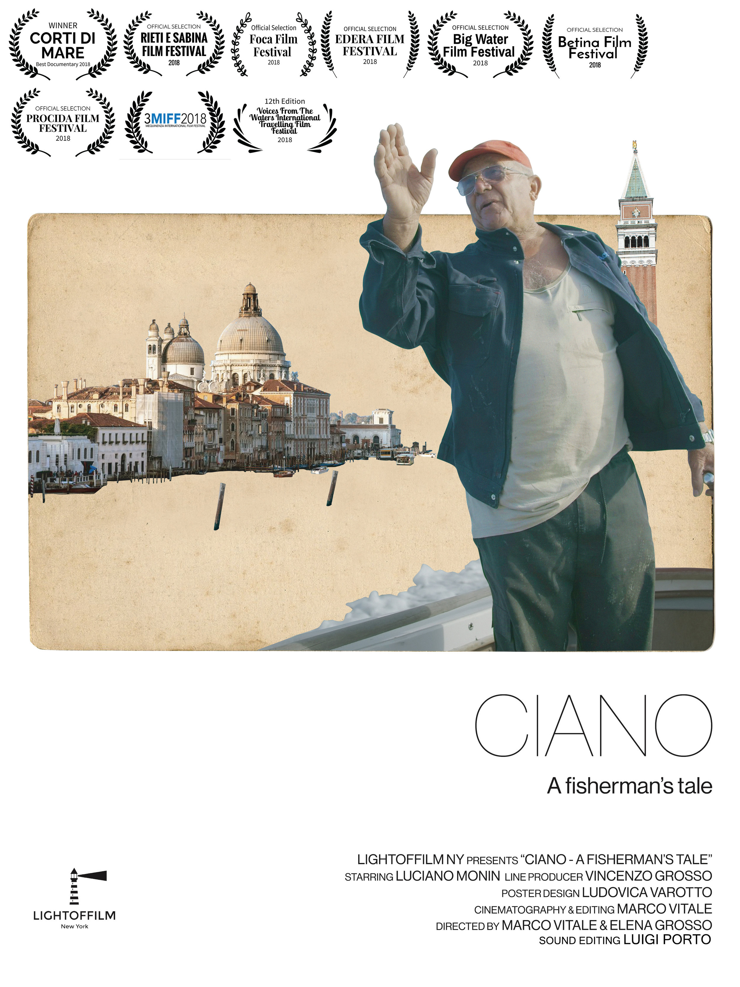 CIANO, A FISHERMAN'S TALE - It's the story of a simple life, lived by the water, lived for the water. Ciano is a fisherman who spent his entire life in Burano, an island near Venice, fishing. This short story follows the reality of a dying craft in a changing world.