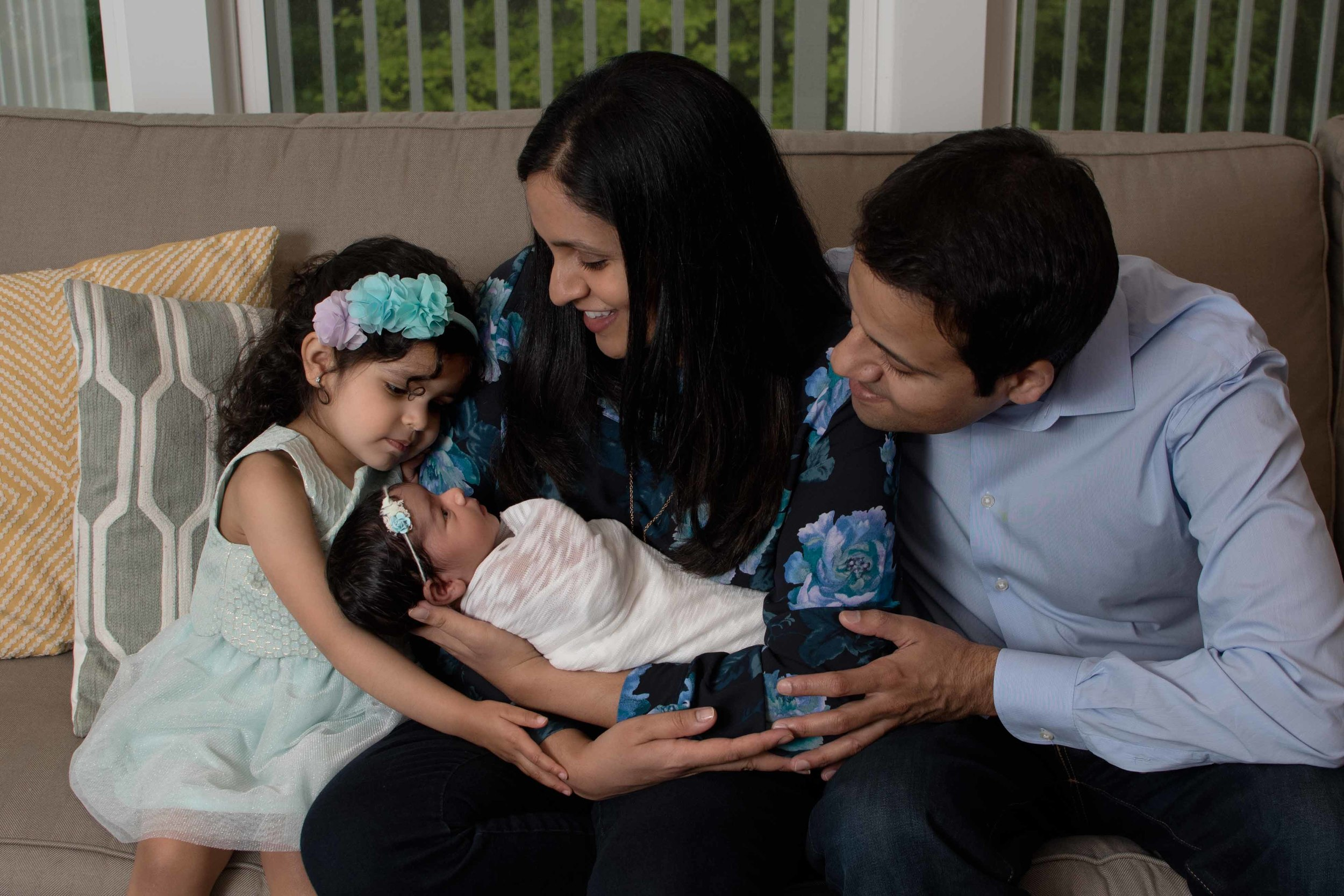 family and newborn photographer Frederick MD