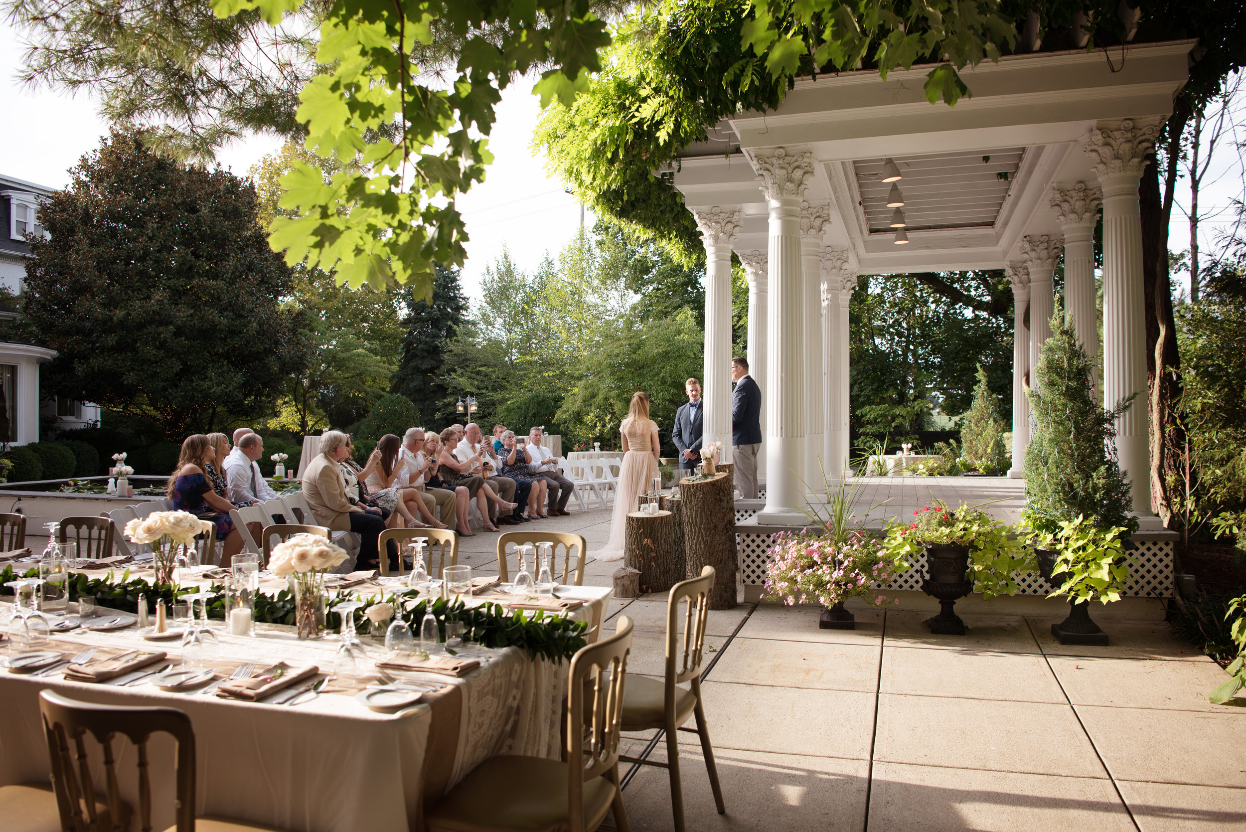 intimate family only frederick md wedding