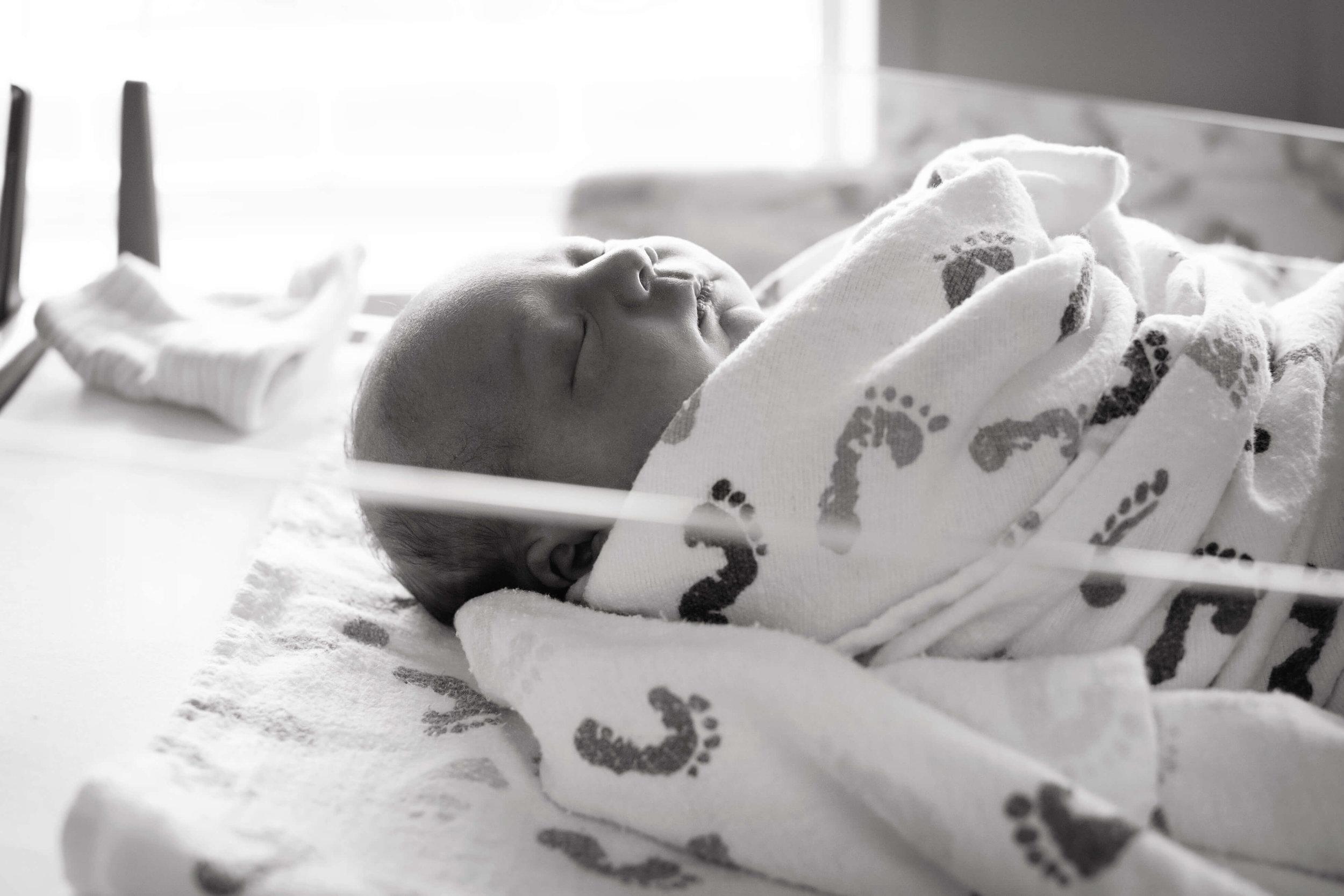 newborn hospital portraits , wayensboro pa