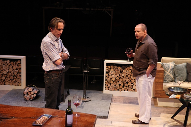 The Delling Shore, by Sam Marks. Humana Festival, Louisville 2013. Bruce McKenzie & Jim Frangione. Photo by Alan Simons