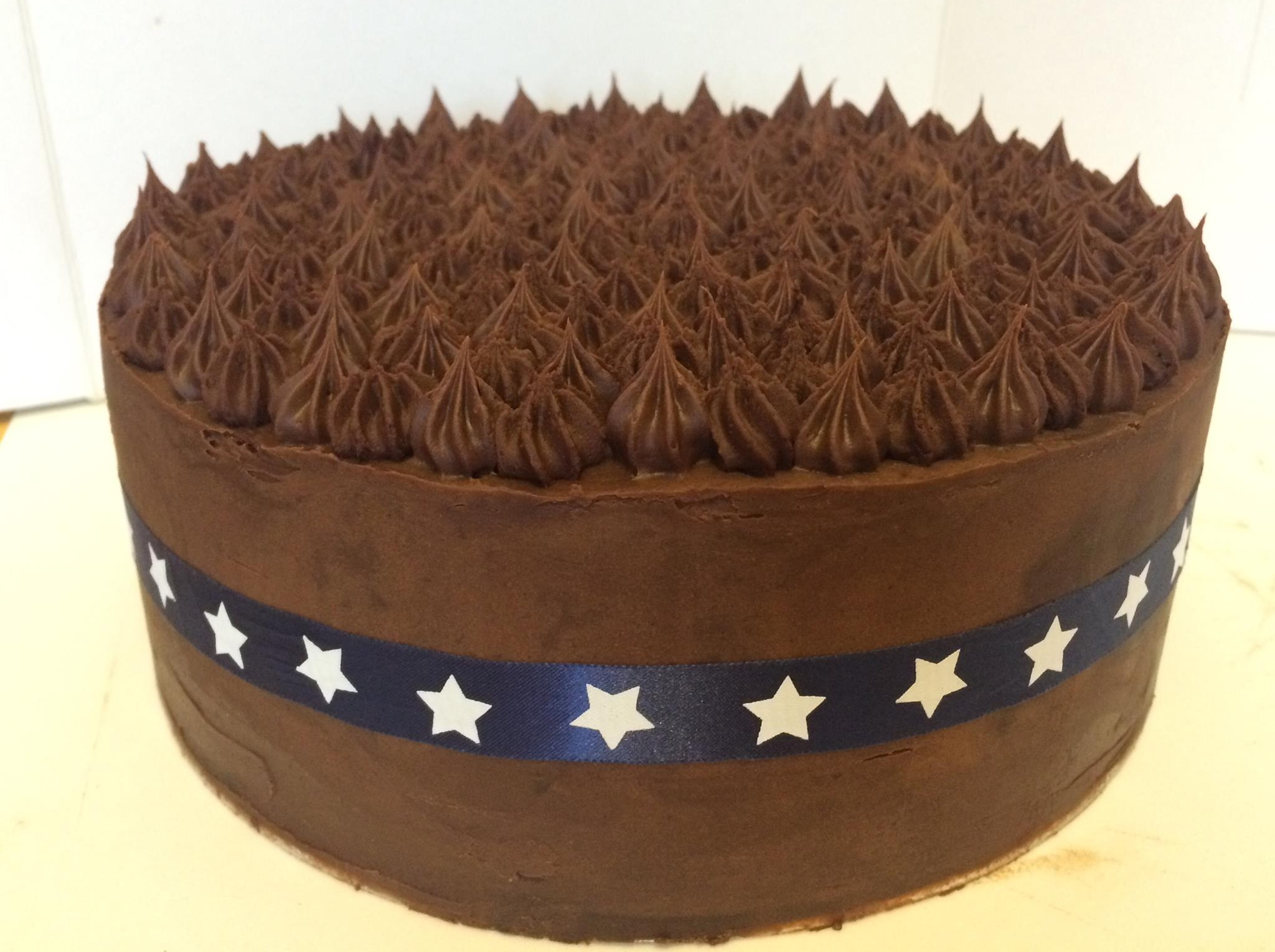 Decedant homemade chocoate cake