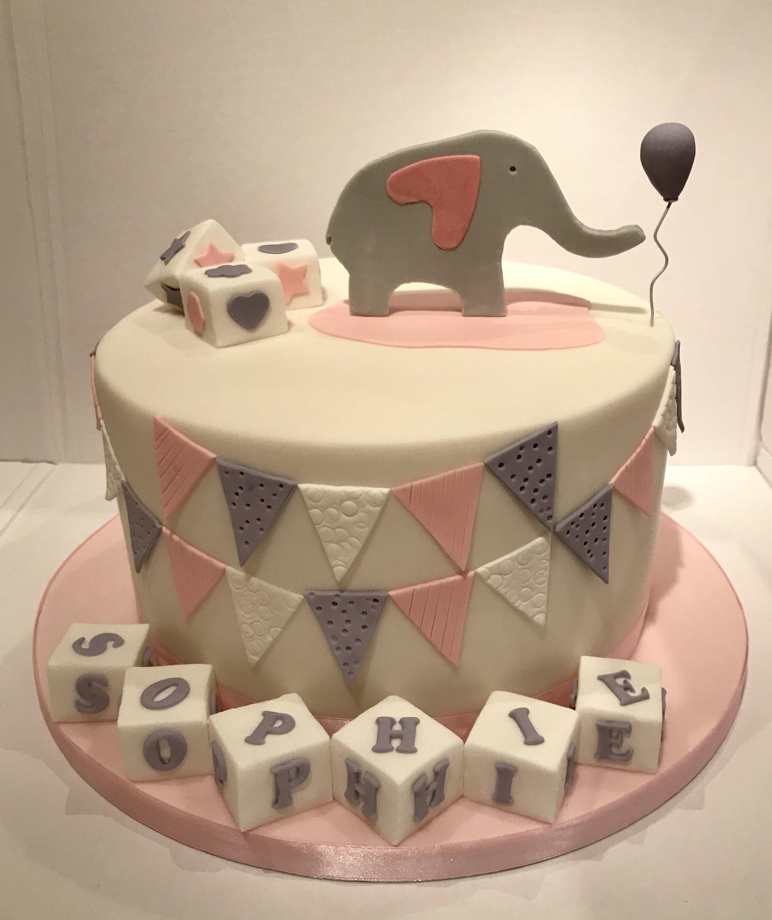 Sophie's Christening cake, Bristol.