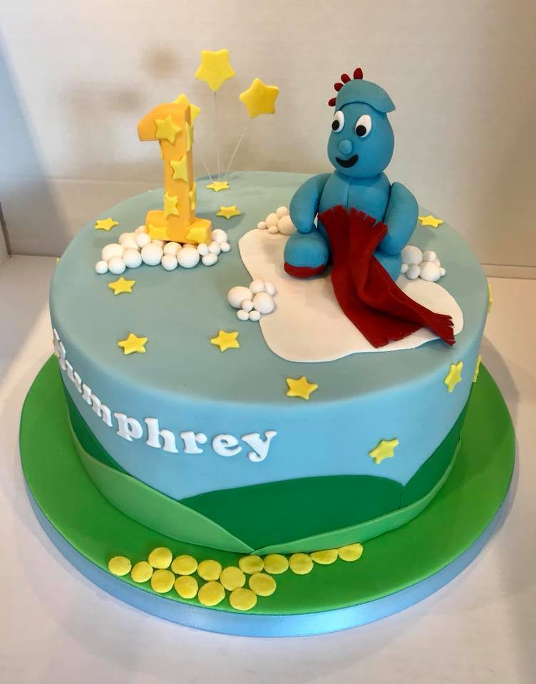 Humphrey's 1st Birthday cake, from Herefordshire.