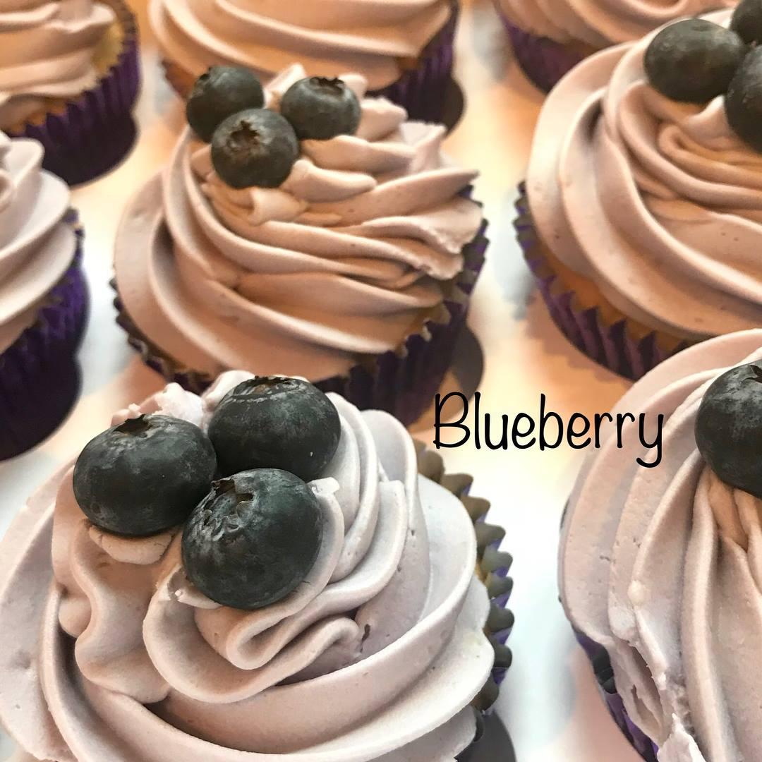 Blueberry cupcakes!