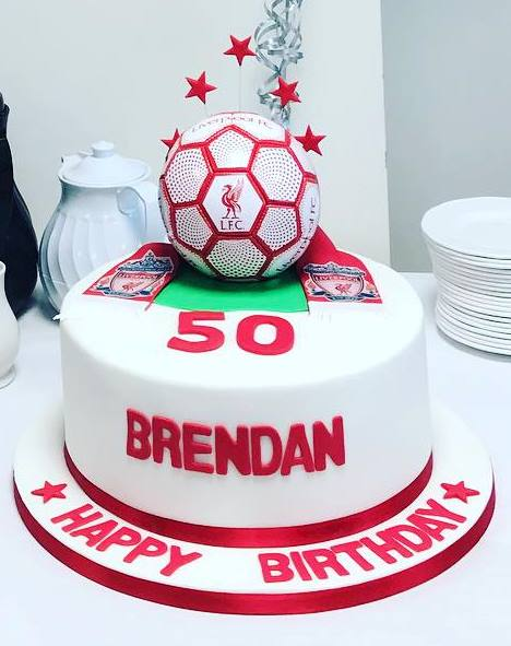 50th Birthday cake at Chepstow Racecourse