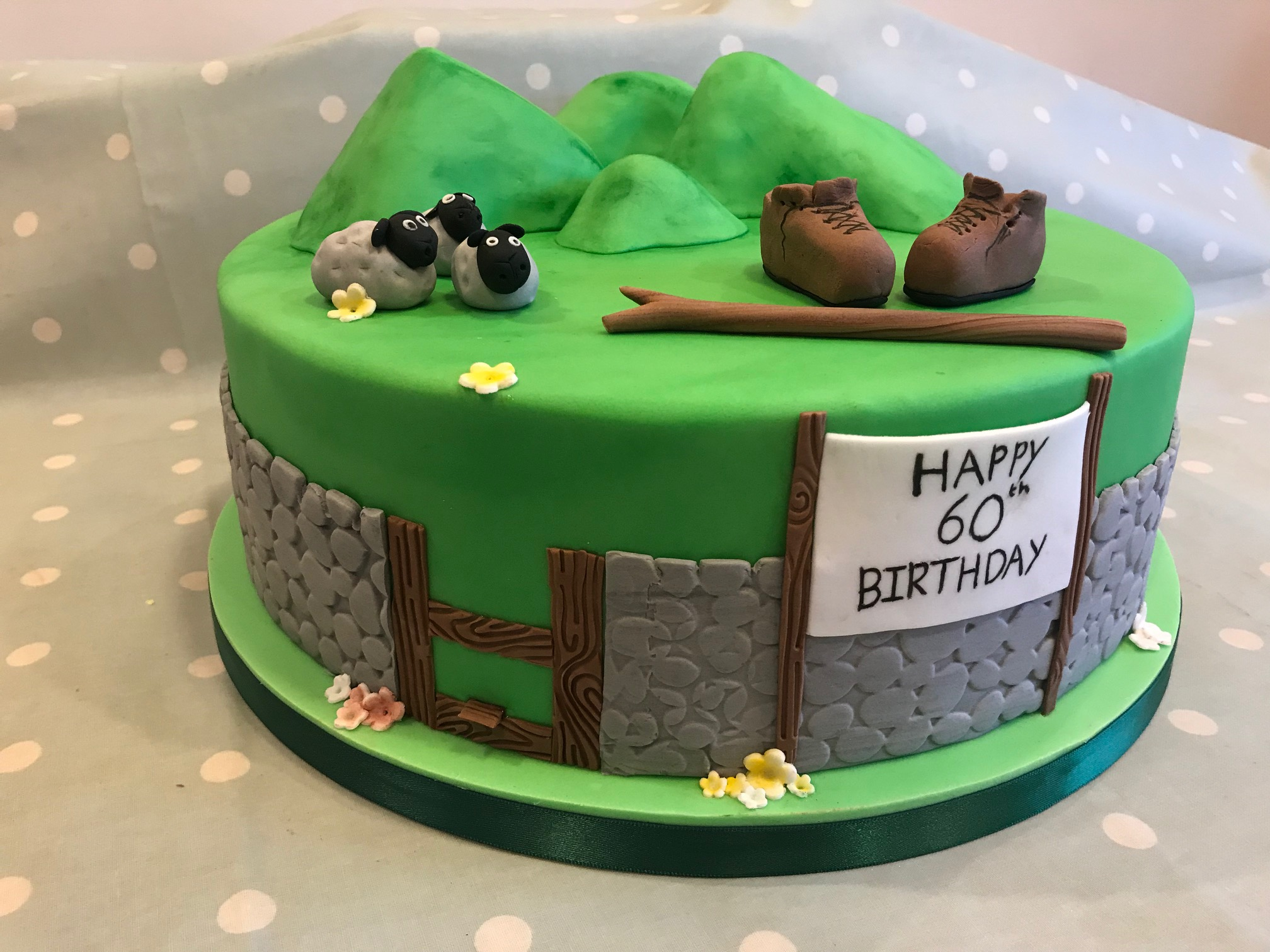 Walking birthday cake!