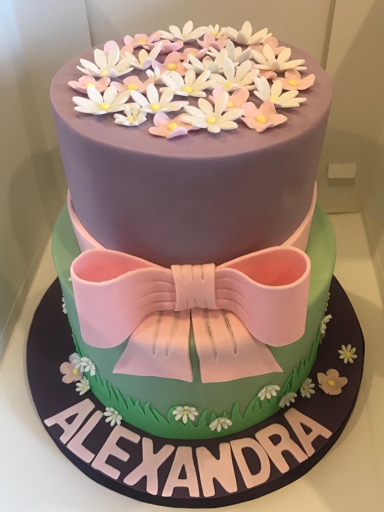 Birthday cake, Chepstow