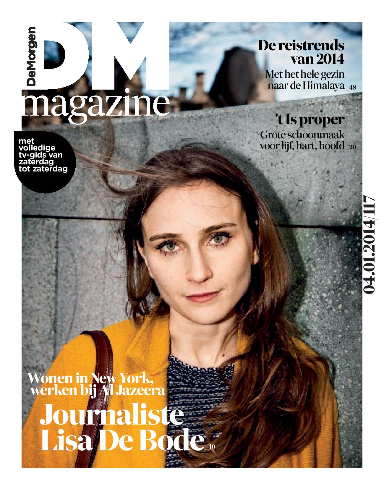 Cover De Morgen Magazine