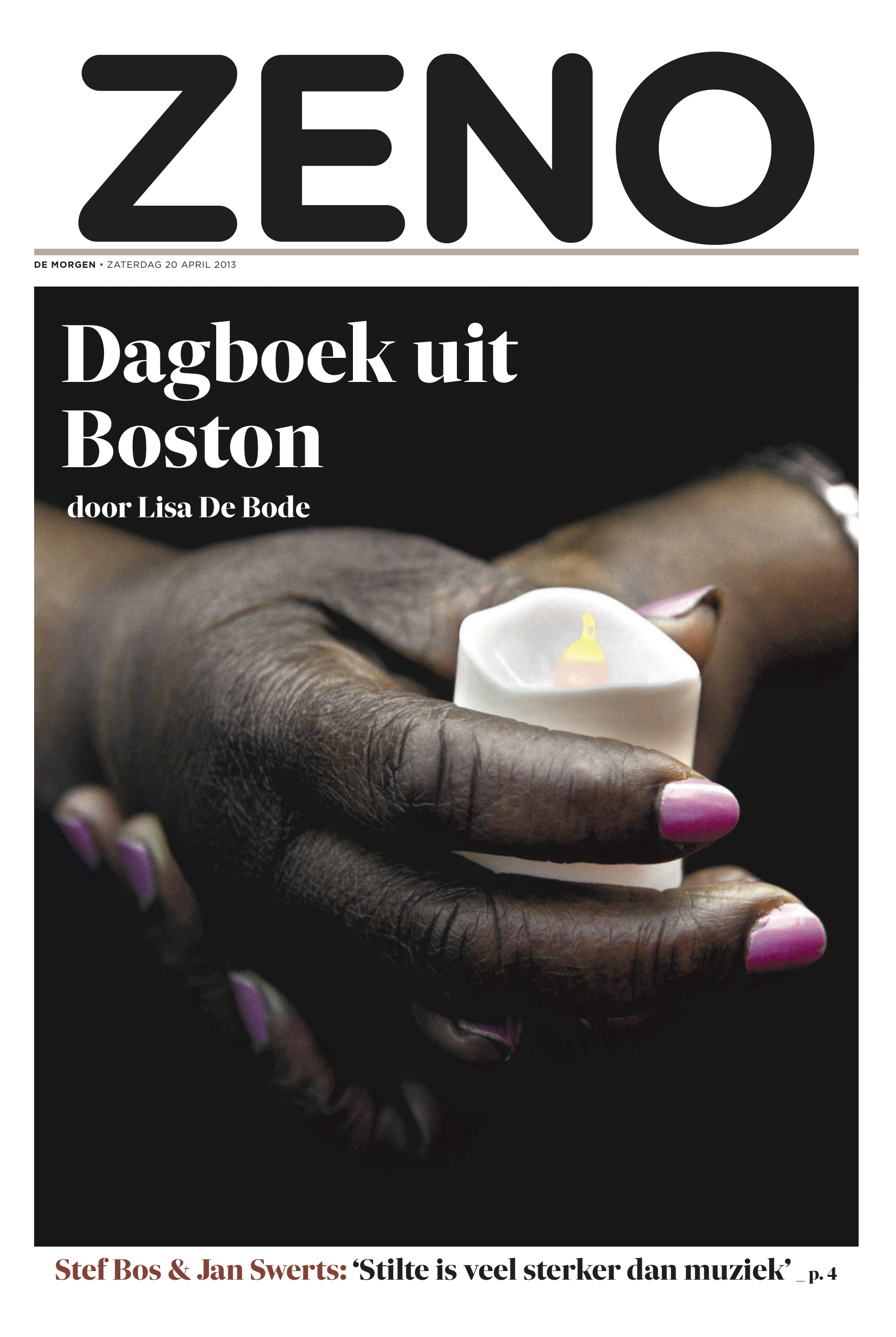 The Boston marathon bombing, Dagboek uit Boston