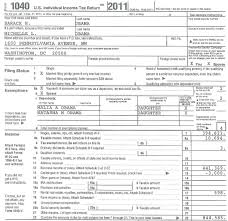 1040 Federal Income Tax Return
