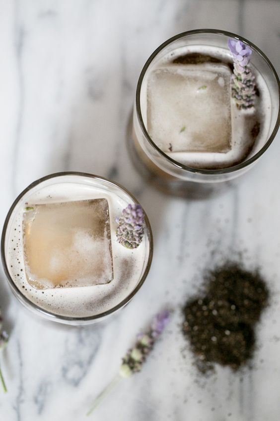 I love this Lavender and Earl Grey recipe by  Sugar and Charm