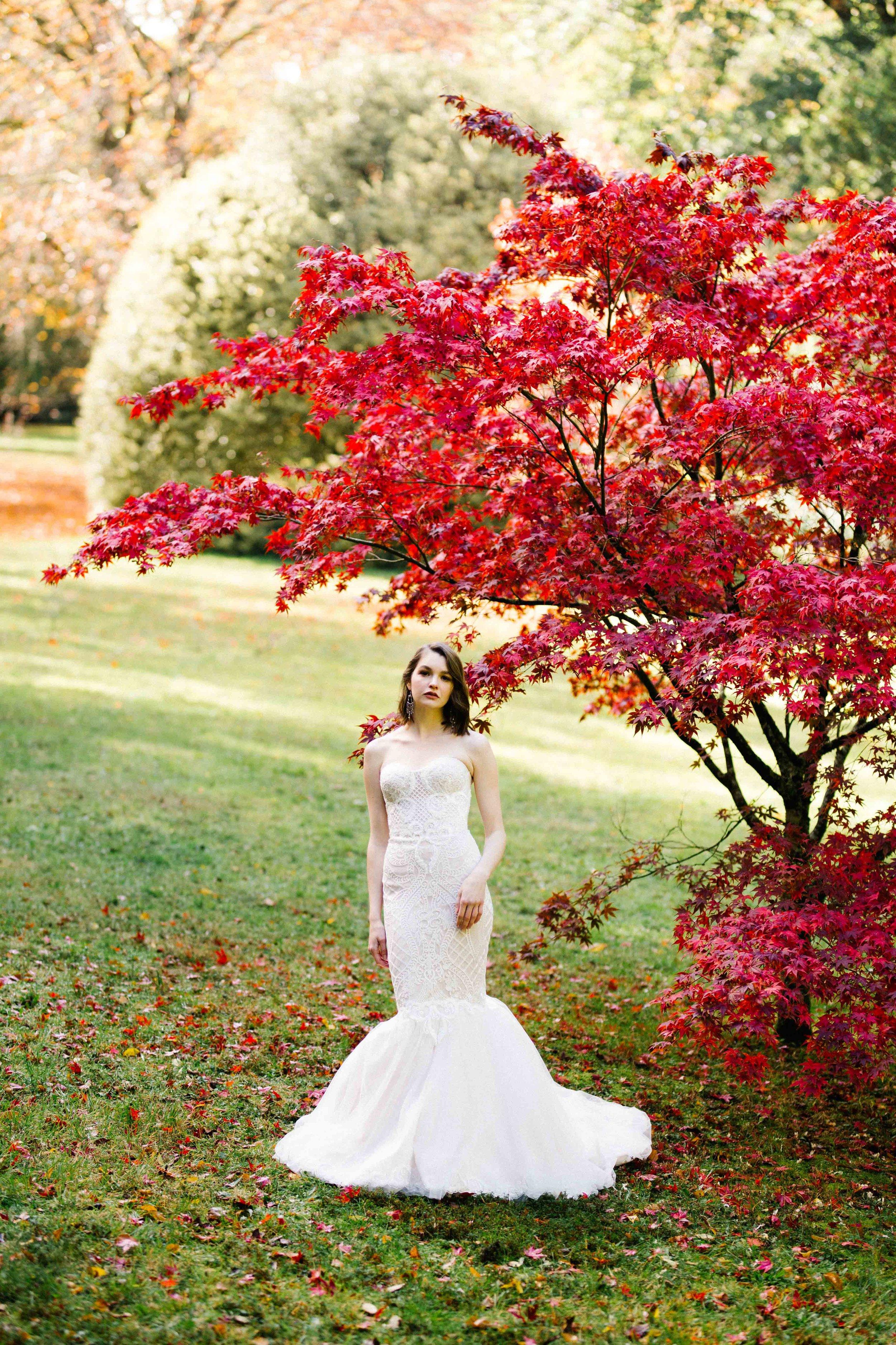 Dancing & Dessert Autumn Bride