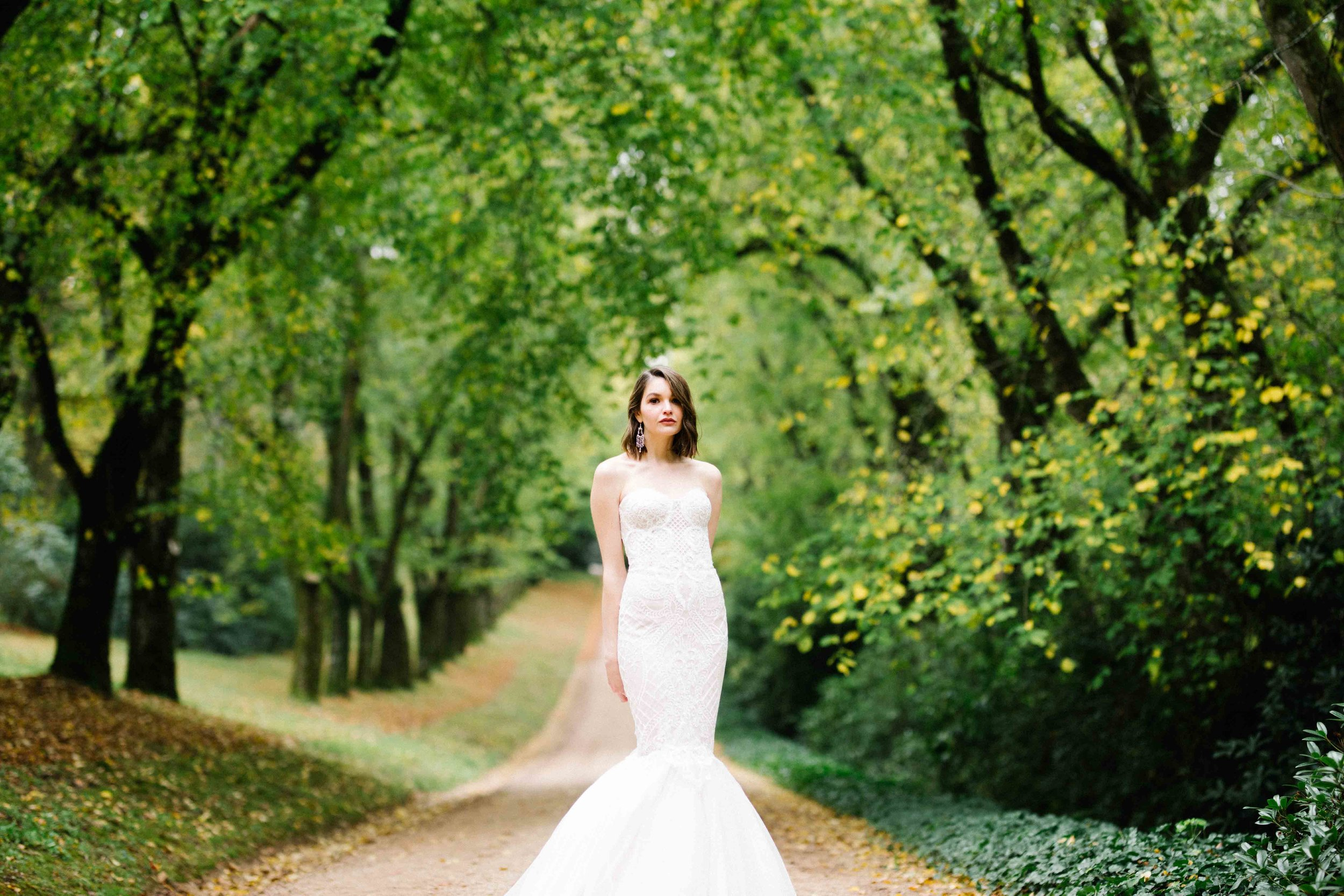 Dancing & Dessert Autumn Wedding Bride
