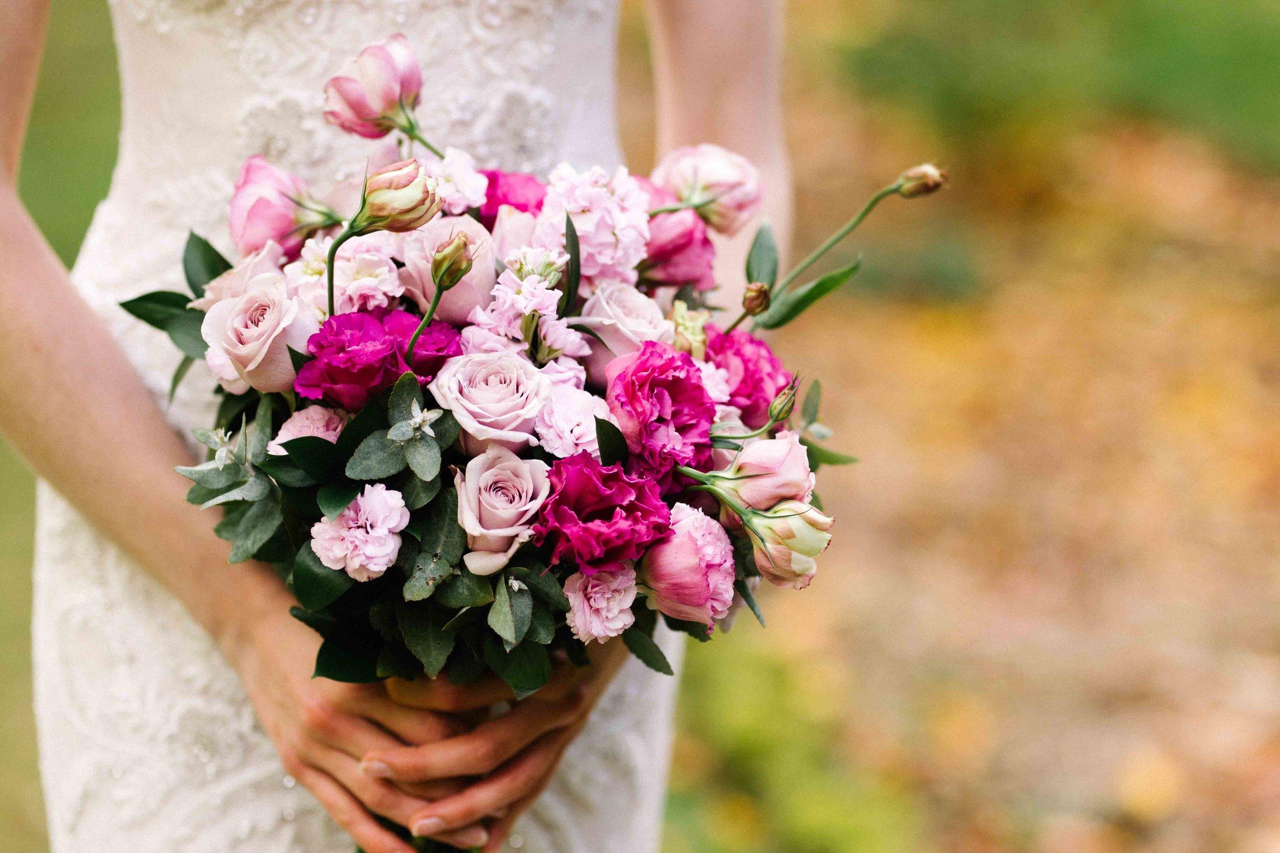 Dancing & Dessert Wedding Stylist Bouquet