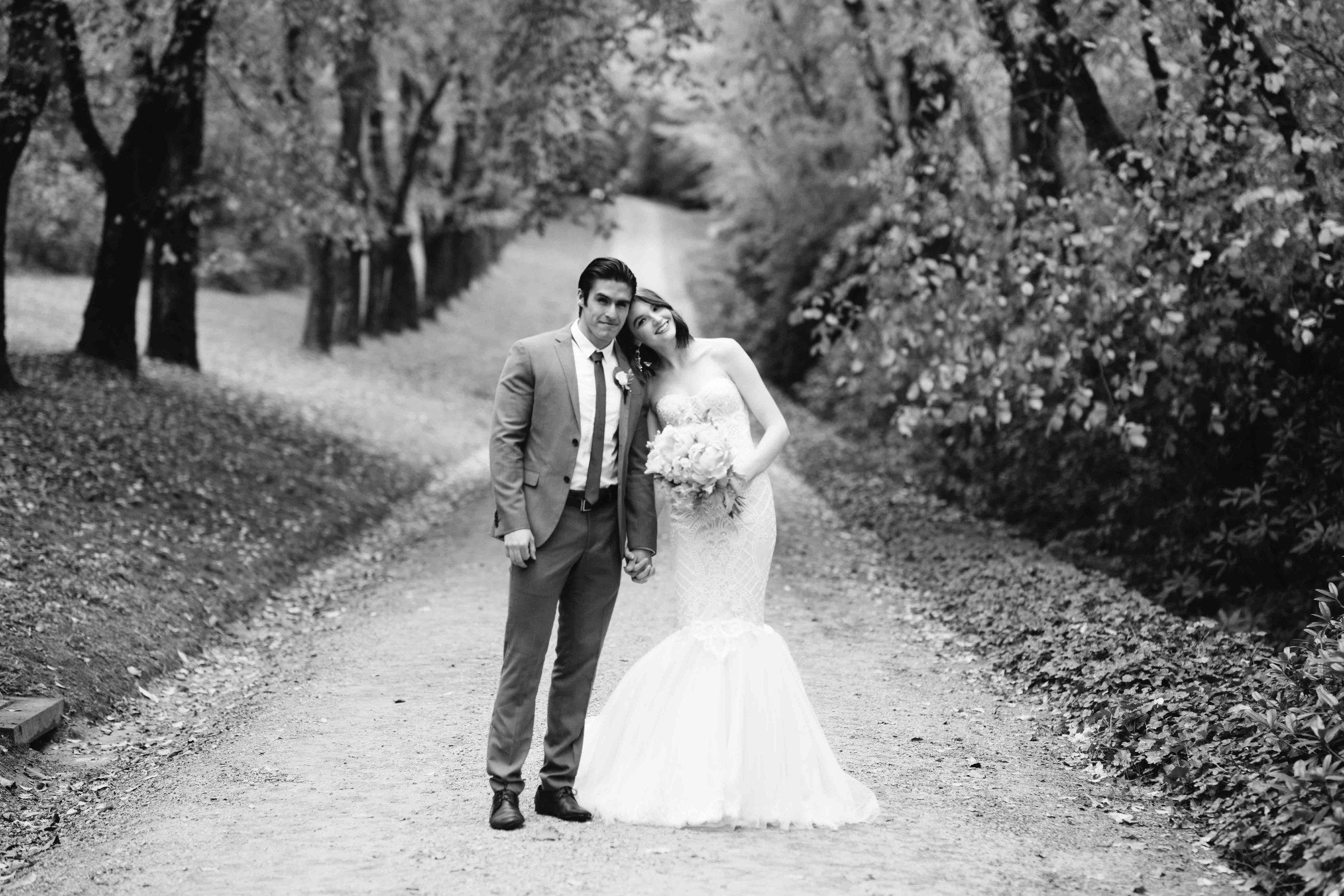 Dancing & Dessert Wedding Stylist Couple