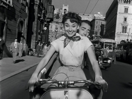 4 - Roman Holiday (1953)Princess Ann: At midnight, I'll turn into a pumpkin and drive away in my glass slipper.Joe Bradley: And that will be the end of the fairy tale.