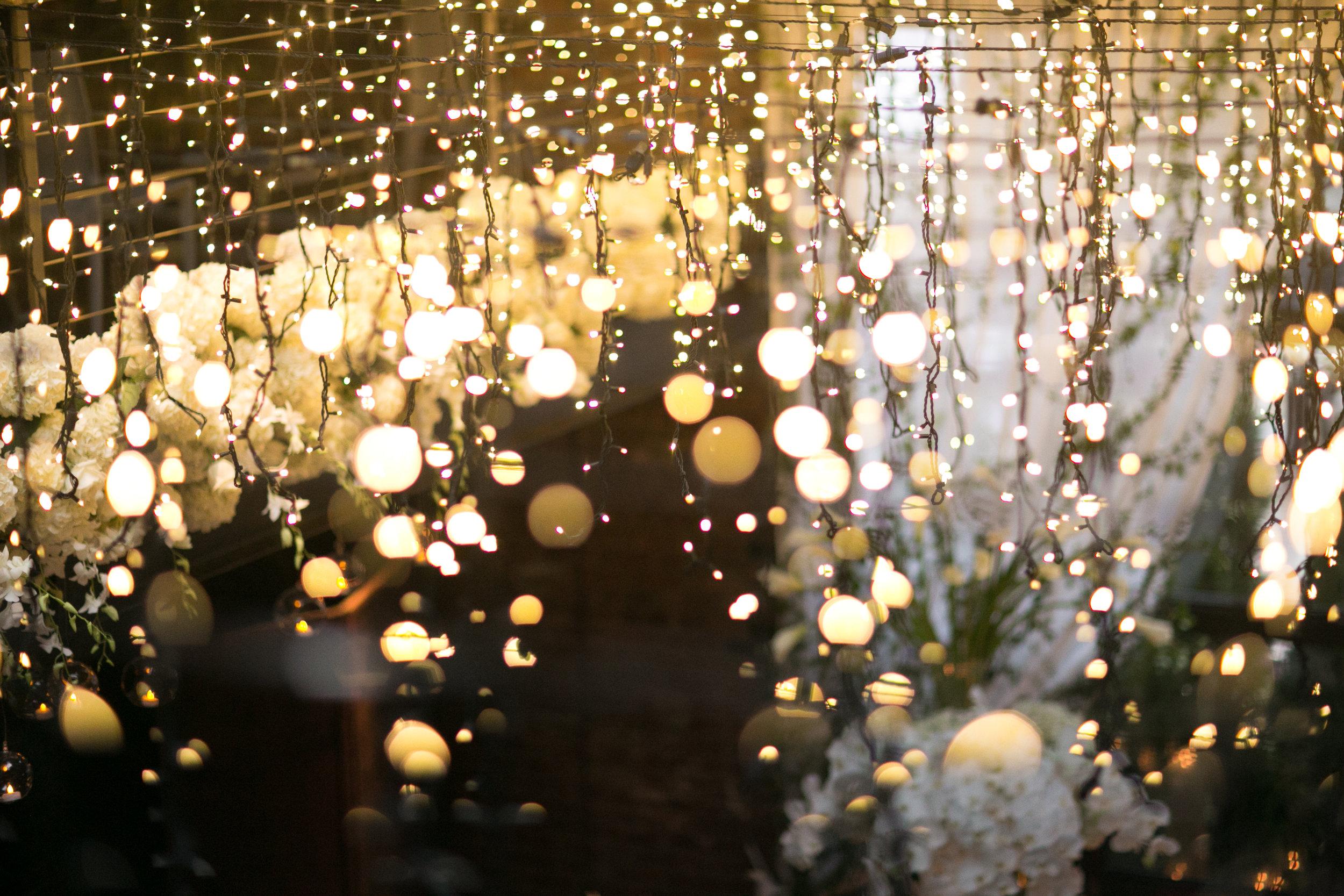 Wedding Ceremony Lights