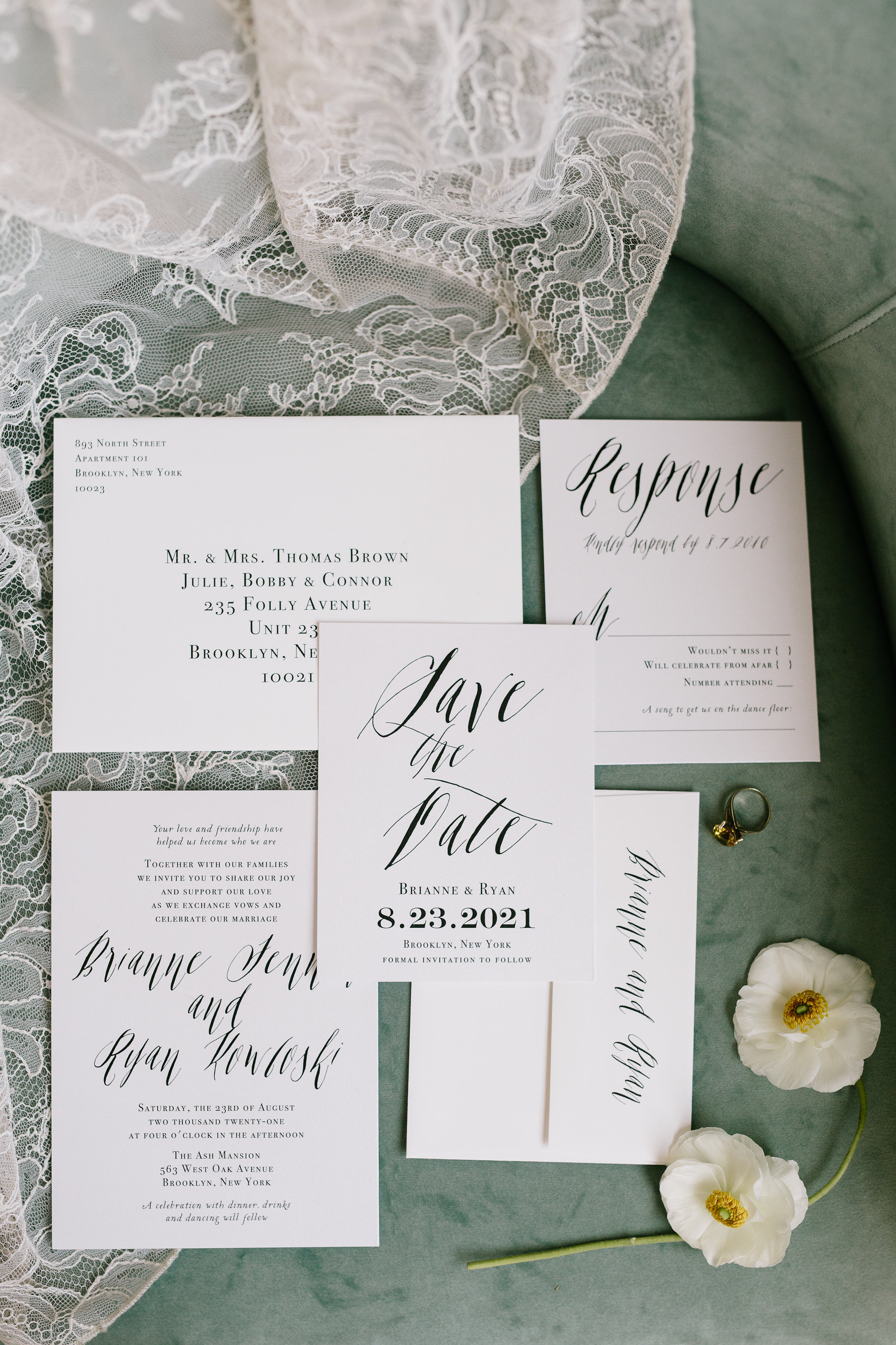 Italia Editorial shoot wedding invites