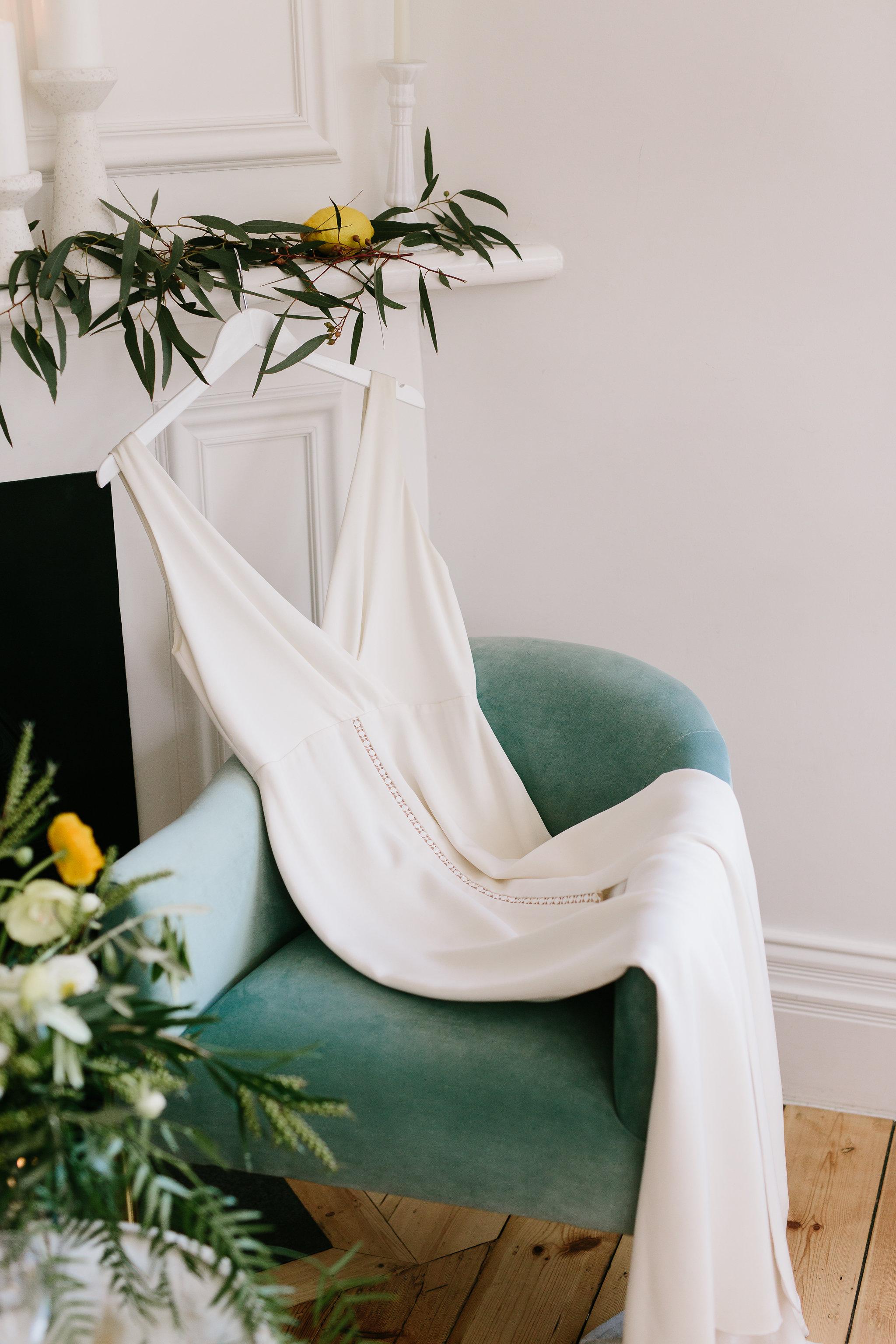 Italia Editorial shoot wedding dress