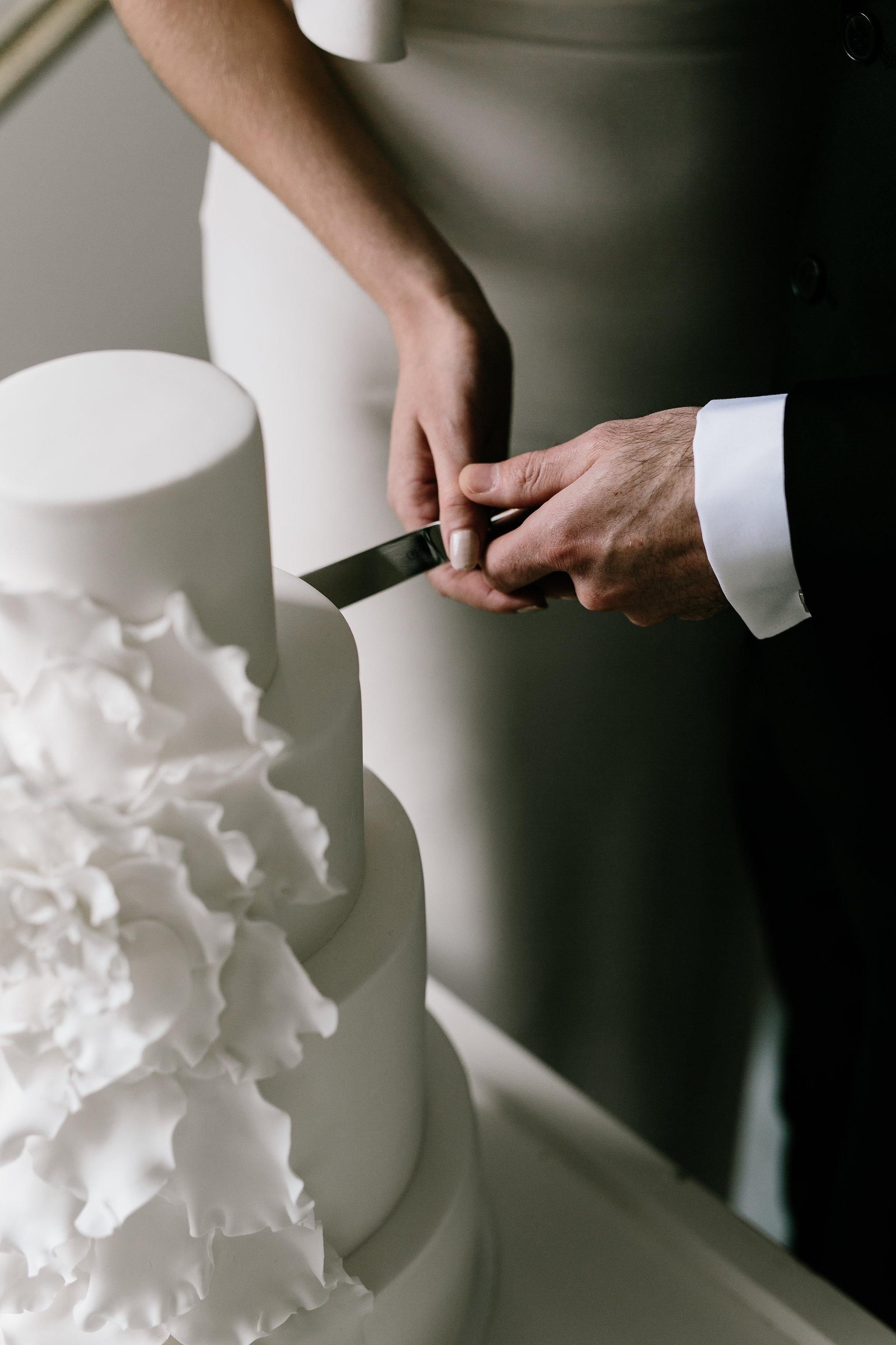 Italia Editorial shoot cutting of the cake
