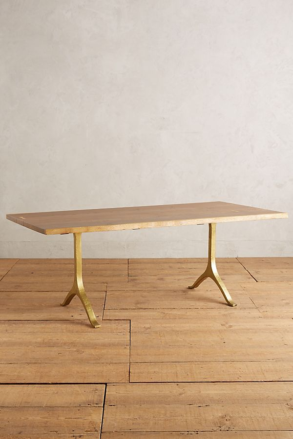 ANTHROPOLOGIE Nemus Dining Table $2,498.00 –$2,798.00