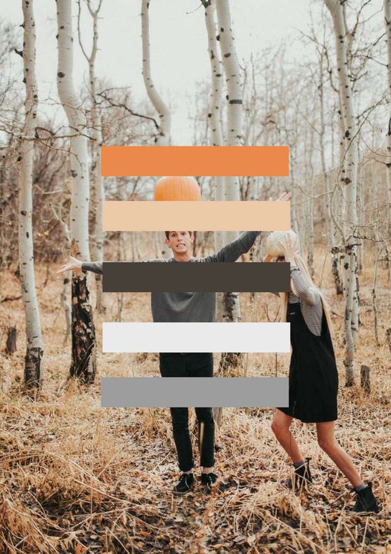 Fall Wedding Colour Palette