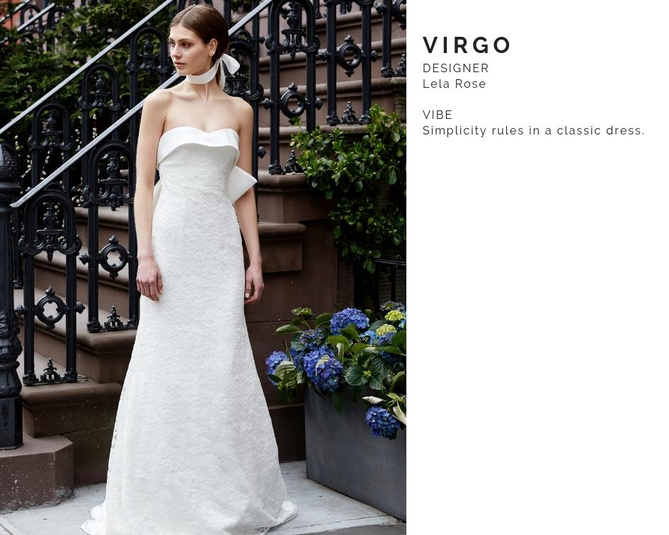 Virgo Wedding Dress