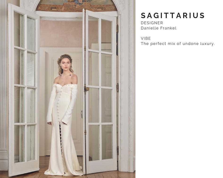 Sagittarius Wedding Dress