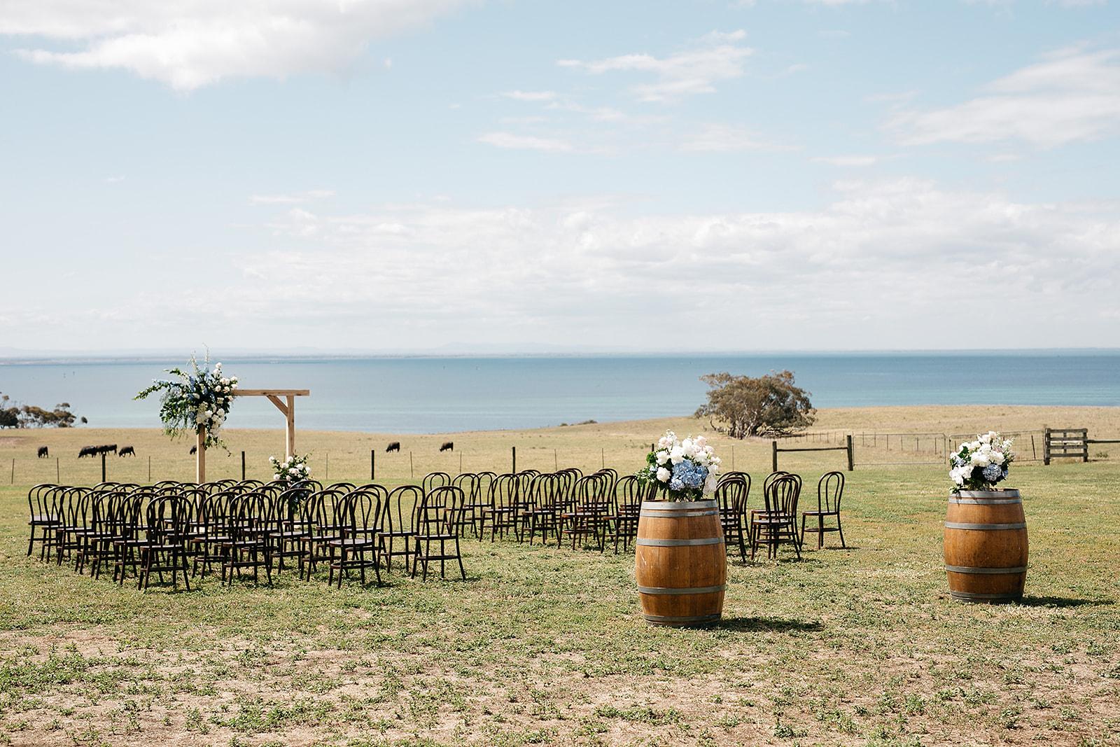 Dancing & Dessert - Wedding ceremony design