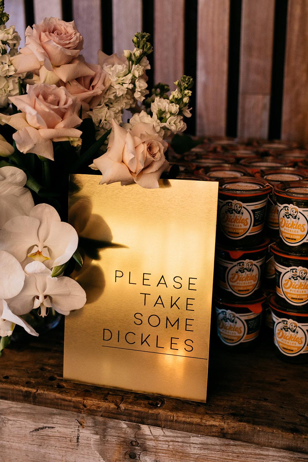 Dancing & Dessert - Dickles Pickles