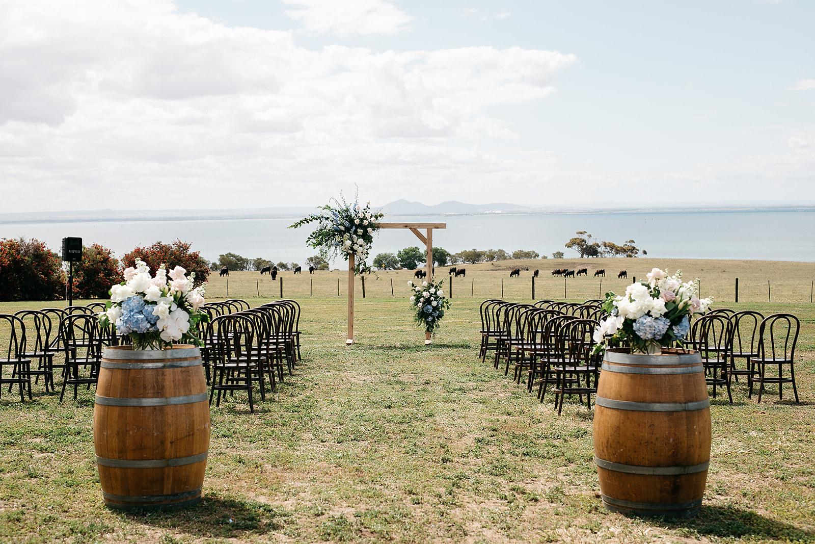 Dancing & Dessert - Summer Winery Wedding