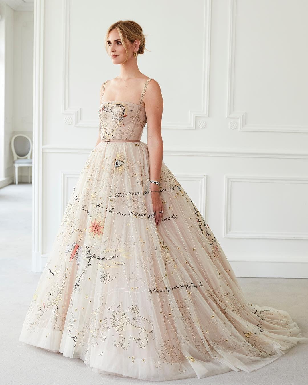 8.Chiara Ferragni - Courtesy of Dior
