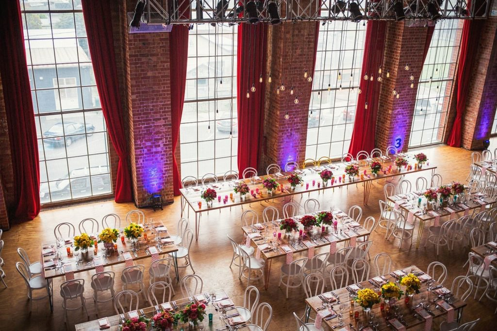 the substation - The Substation is an iconic fixture on the Newport landscape having turned 100 years old in 2016.This venue is sure to blow your guests away with it's massive arched windows and high ceilings.