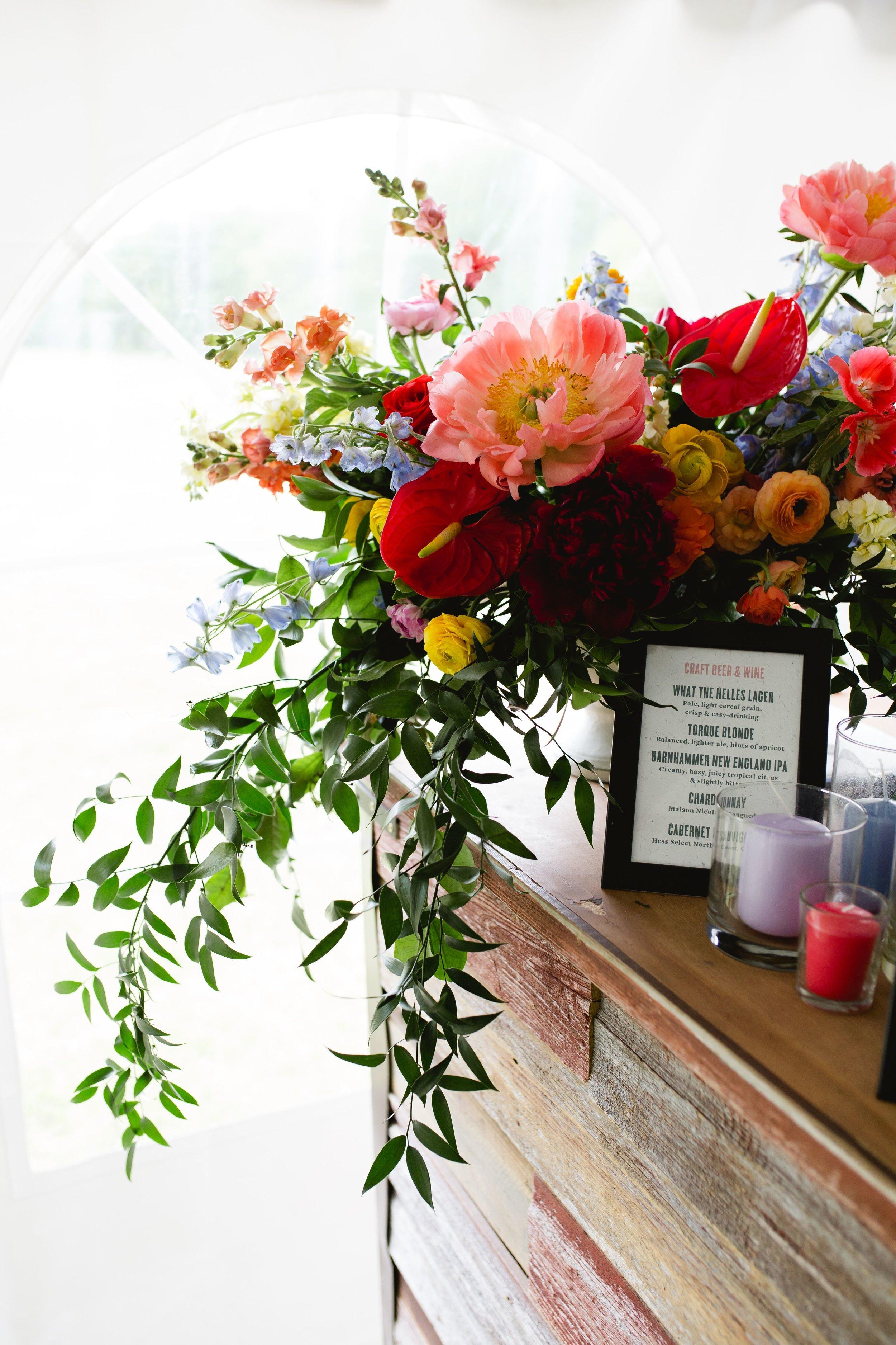 Bar flowers