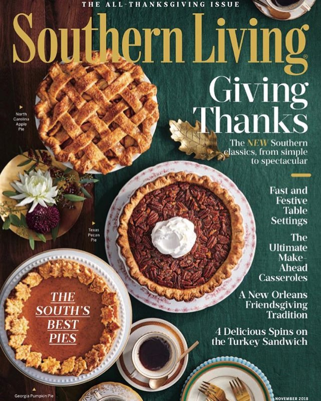 Oxbow Pecan Pie - Southern Living Magazine