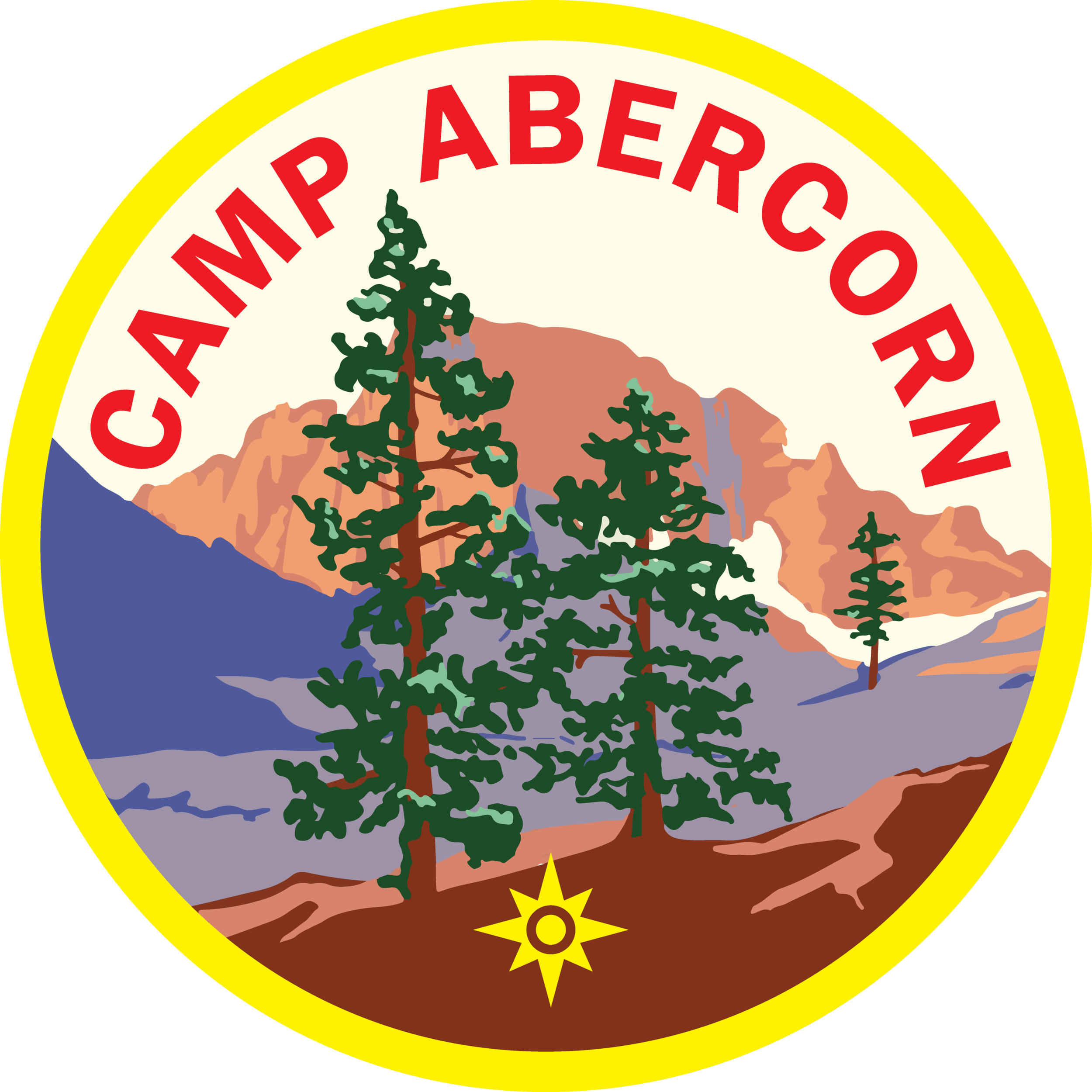 Camp Abercorn Patch Vector