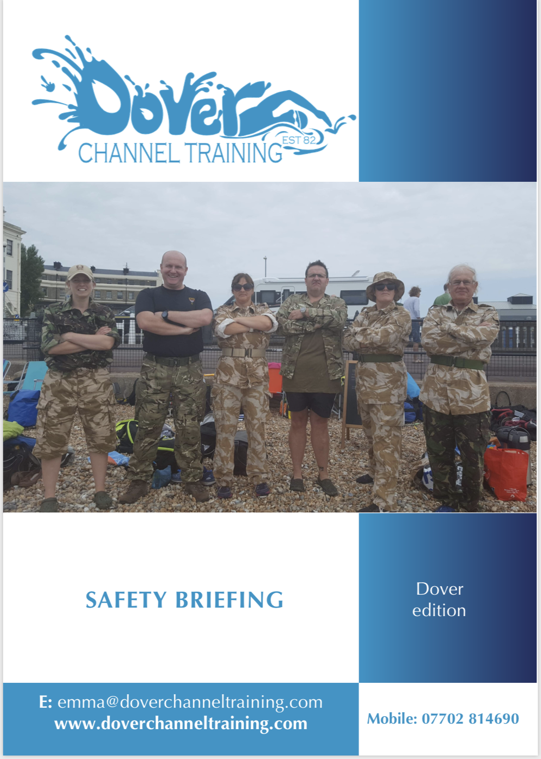 Safety briefing document