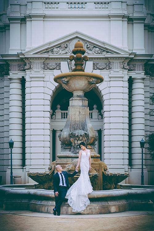 Joyce + Tony. Engagement. Wedding Day. Trash the Dress.